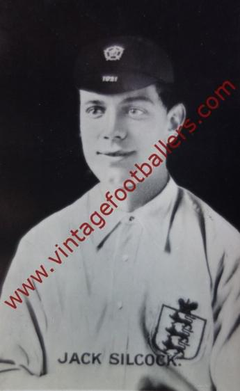 72d2646e877 Silcock Jack Image 1 Manchester United 1921 - Vintage Footballers