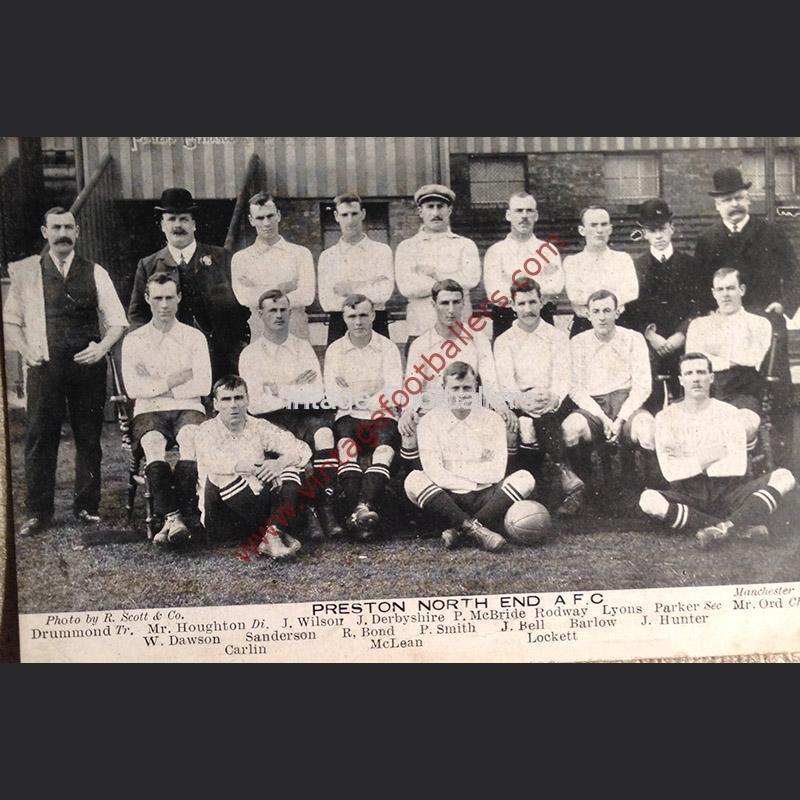 Preston North End Team Photo 1