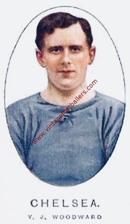 Woodward Vivian Image 5 Chelsea 1914 - Vintage Footballers