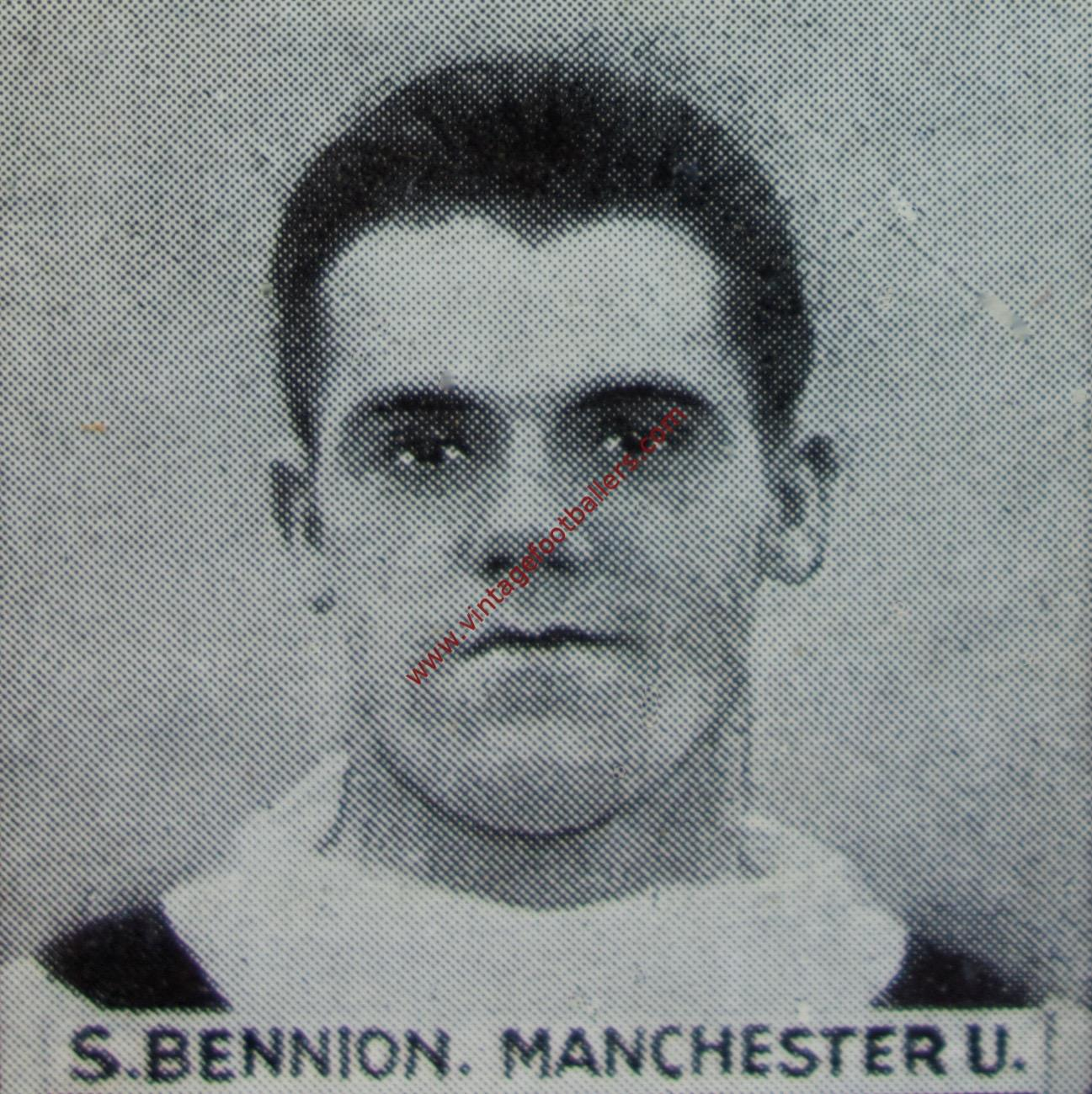 ae62aa24ed3 Bennion Ray Image 4 Manchester United 1930 - Vintage Footballers